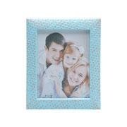 Porta retrato de plastico wall azul 10x15 cm