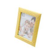 Porta retrato de plastico wall amarelo 10x15 cm