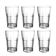 Conjunto de copos drink Allure de vidro 425 ml 06 peças