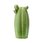 Vaso de cerâmica cacto verde 34 cm