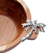 Bowl de madeira Palmeira 22 cm