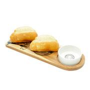 Conjunto em madeira Special Foods para queijo 02 peças