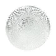 Lugar americano redondo Silver Lux 40 cm