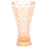 Vaso de cristal decorativo angel âmbar 13 cm