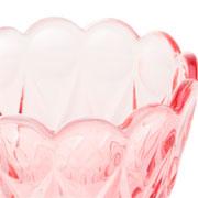 Vaso de cristal decorativo angel roxo 13 cm