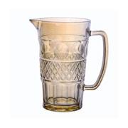 Jarra de vidro Geometric Âmbar 1 litro