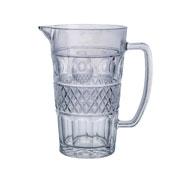 Jarra de vidro Geometric Azul 1 litro