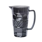 Jarra de vidro Geometric Cinza 1 litro