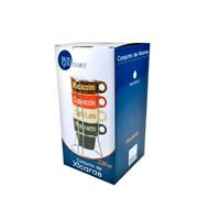 Jogo de xícara de chá Name com suporte 04 peças 220 ml