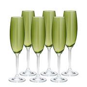 Conjunto taças de cristal ecológico 220 ml 06 pcs