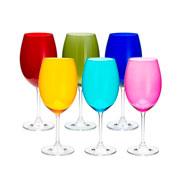 Jogo de taças para Àgua Gastro Colors 580 ml 06 peças