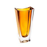 Vaso de cristal Okinawa âmbar 30 cm