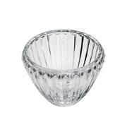 Centro de mesa de cristal linearis 24x19 cm