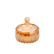 Potiche de cristal Louise Ambâr 14 cm