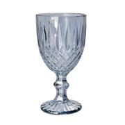 Conjunto de taças de vidro Greek cinza 220 ml 06 peças