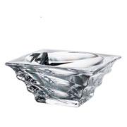 Centro de mesa de cristal casablanca 24x11 cm