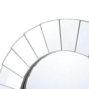Espelho de parede redondo degrau 50 cm