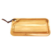Tábua de madeira para churrasco retangular 33 cm - Tramontina