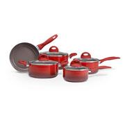 Jogo de panela CeramicLife vermelha 05 peças - Brinox