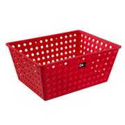 Cesta Maxi multiuso vermelha 38 x 28 cm - Coza