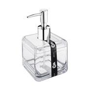 Porta sabonete líquido Cube cristal 330 ml - Coza