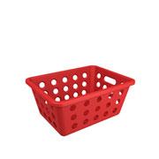 Cesta pequena multiuso Vermelho Bold 19x14 cm - Coza