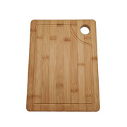 Tábua de corte em bambu 22,5x32 cm