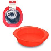 Forma de silicone para bolo vermelha 30x27x06 cm - Hauskraft
