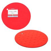 Descanso de panela redondo vermelho hauskraft 17 cm
