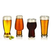 Jogo de copos de vidro para cerveja 04 peças