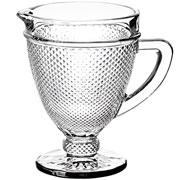 Jarra de vidro Bico de jaca 1 litro