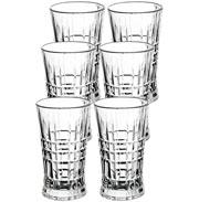 Jarra de vidro Line 1.145 litros com 06 copos 230 ml