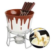 Conjunto para fondue Bruxelas 6 peças