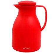 Garrafa térmica basic vermelha 1 litro - Hauskraft