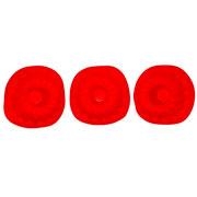 Jogo de mini forma redonda vermelha hauskraft 10 cm 03 peças