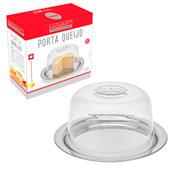 Porta queijo inox 23 cm - Hauskraft