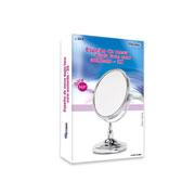 Espelho de mesa dupla face 26.5 cm