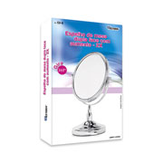 Espelho de mesa dupla face 34 cm