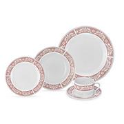 Aparelho de jantar porcelana Classic 20 peças - Hauskraft