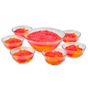 Conjunto para sobremesa de vidro Vana 07 peças - Hauskraft
