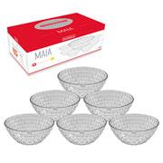 Jogo de bowl de vidro Maia 06 peças - Hauskraft