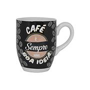 Caneca de cerâmica Café sempre 350 ml