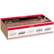 Jogo de xícara porecelana para café Petit 12 peças