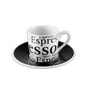 Jogo de xícara porcelana para café Espres 12 peças