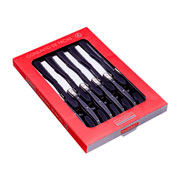 Conjunto de facas preta 06 peças