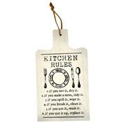 Placa decorativa Kitchen colors 35 cm