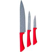 Conjunto de facas volcano colorstone 03 peças - Euro