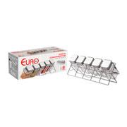 Porta condimento com suporte quadrado 06 peças- Euro