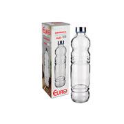 Garrafa de vidro H2O 1 litro - Euro