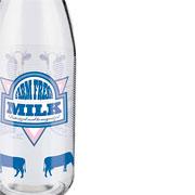 Garrafa de vidro para leite Milk 950 ml - Euro